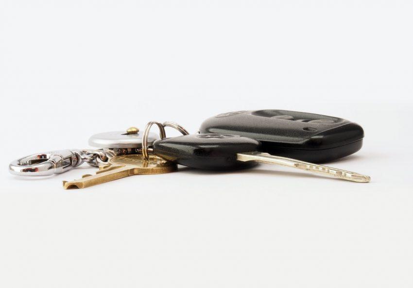 klucze z pilotem